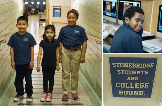 Stonebridge World School students